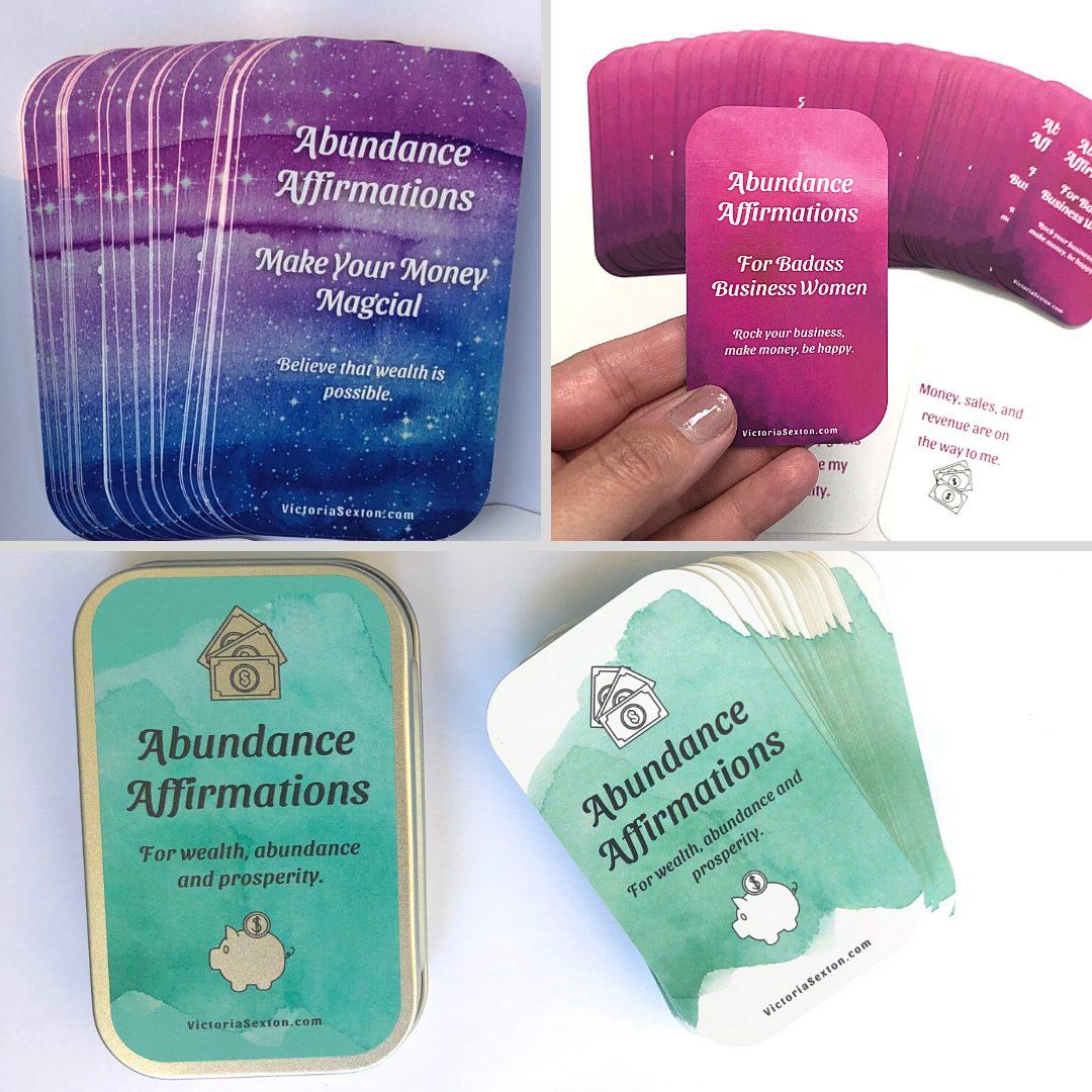 Abundance Cards (5)